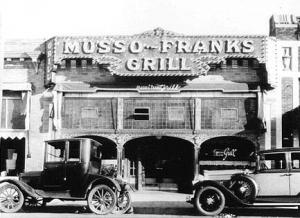 Musso and Frank's.