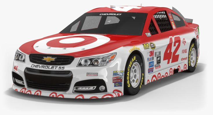 chip ganassi racing nascar 3D 3d model, Nascar, Sports car