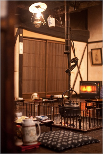 Traditional Japanese Interior ..wow.