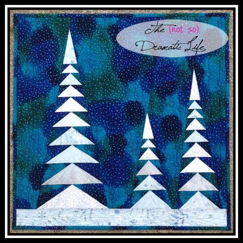 Friday Spotlight: Cassandra's Beautiful Winter Solstice Mini Quilt — SewCanShe | Free Daily Sewing Tutorials                                                                                                                                                                                 More