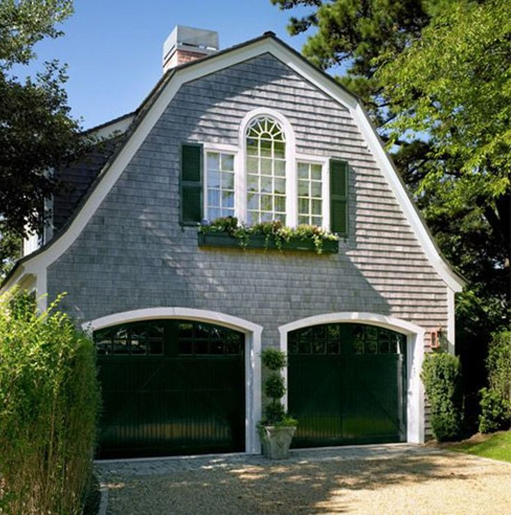 Shingles Windows Garage Door Dutch Colonial Roof Style