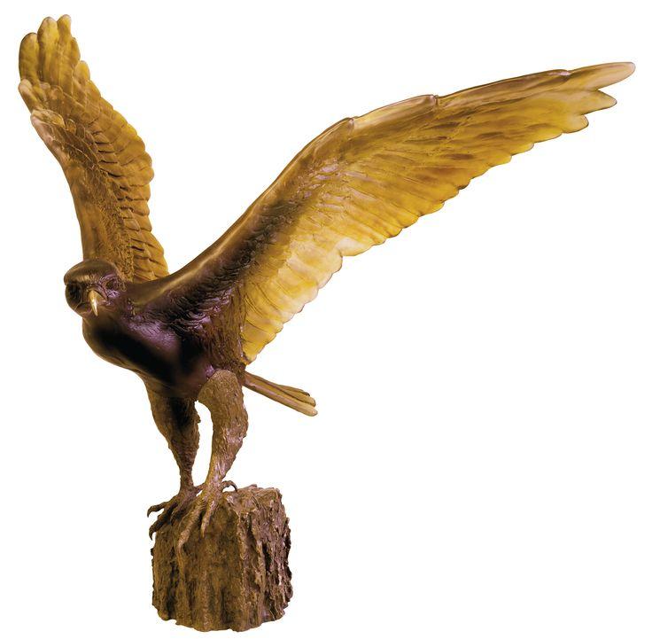 The Hawk Fight by Madeleine Van der Knoop 75 EX — Daum
