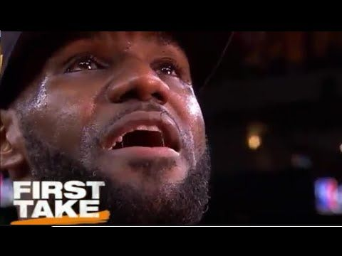ESPN First Take - Game 7 NBA Finals: Lebron James leads Cavaliers to 2016 World Championship def Steph Curry's Warriors...