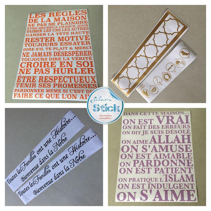 590 best Wall Stickers / Islamic Stickers / Wall Art ...