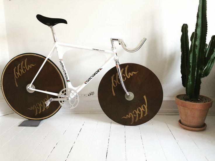 #3ttt #concorde #colombo #fluidisk #campagnolo #concor #trackbike #bikeporn #rebuild #pursuit #moser