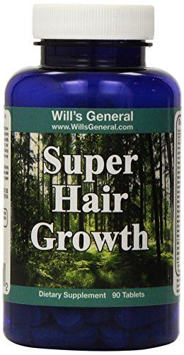Hair Growth Vitamins !  Supports Hair Growth  Stimulate Vibrant and Healthy Hair Production! 100% Natural Hair Growth Pills ! Natural Thicker Longer Vibrant Hair!! Nutrient Rich Formula - PROMOTIONAL PRICE!