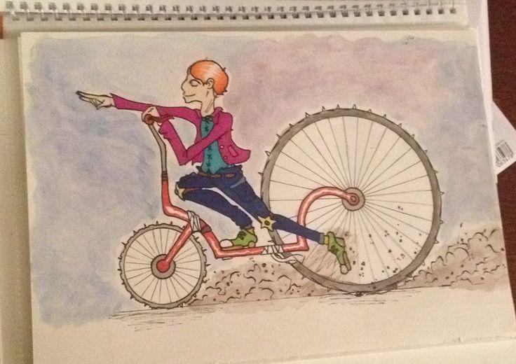 Un dibujo q hice hace poco, quise dibujar algo en movimiento