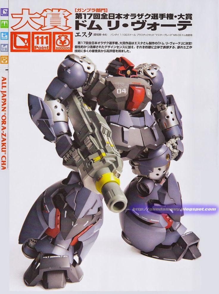 "GUNDAM GUY: The 17th All Japan ""ORA-ZAKU"" Championship 2014 Contest - Grand Champion"