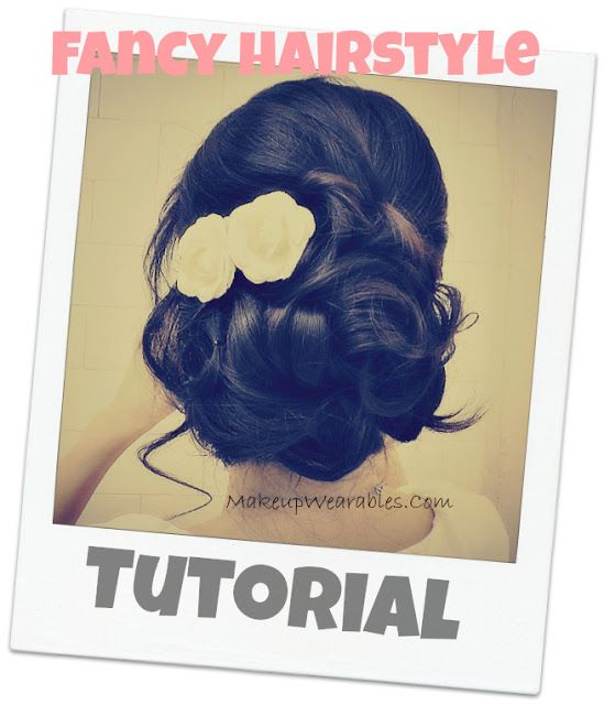 Video hair tutorial | easy bridal look, wedding hairstyle. Romantic updos for p…