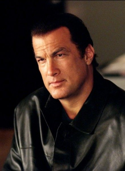 Steven Seagal - that's a bad bad man!!!