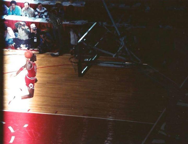 Una imagen nunca vista antes de uno de los mejores mates de la historia en la NBA