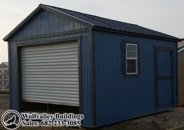 Wolfvalley Buildings  Storage Shed Blog.: Motorcycle Garage 12x16 Portable Storage Building,...
