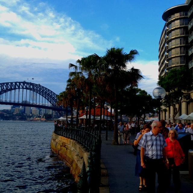 Sunday afternoon at Circular Quay