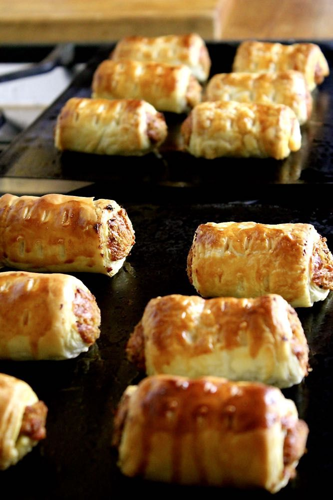 vegetarian sausage rolls, fab for a vegetarian Christmas!