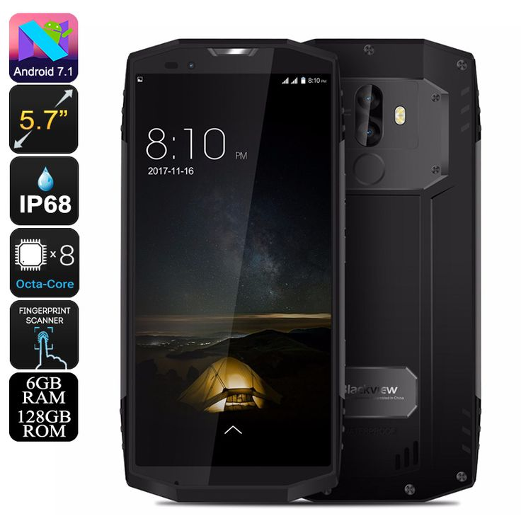 HK Warehouse Preorder Blackview BV9000 Pro Rugged Phone - Octa-Core CPU, 6GB RAM, Android 7.1, IP68, 4180mAh, 13MP Cam (Grey) - Blackview BV9000 Pro Android Smartphone features a whopping Octa-Core processor, 6GB RAM, and 4180mAh battery. Its 13MP Dual-Lens Camera shoots 4K video.