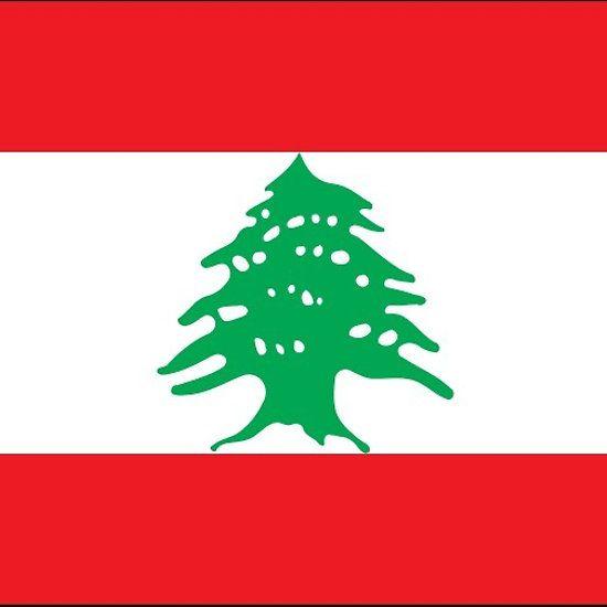 Lebanon Flag Stickers