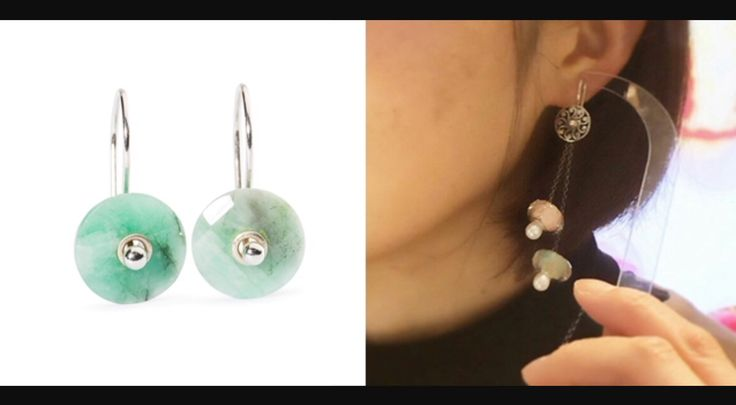 Trollbeads earrings