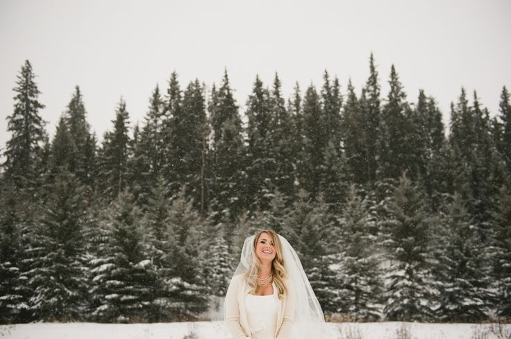 woodland wedding | bridal portraits | winter wedding | Talia Unger Photography