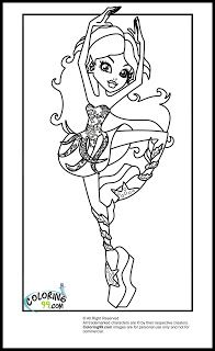Great Monster High Coloring Pages Pdf 75 Monster High Class Dance
