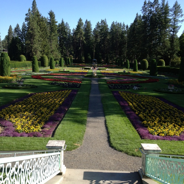 Manito Park Gardens- Spokane Washington