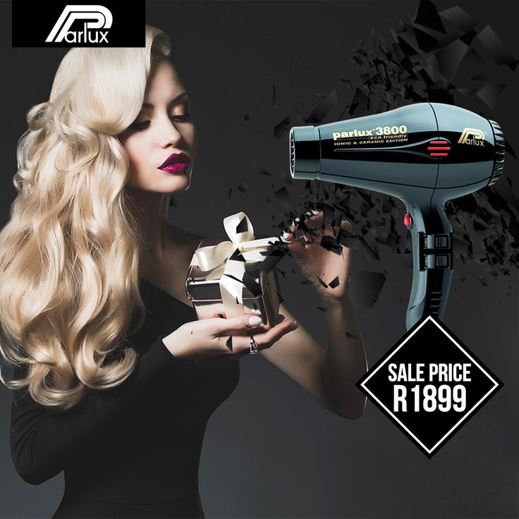 Tap into luxury & heat like you've never known. Get the @Parlux Ceramic-Ionic Hairdryer at our online store! Shop here: https://www.hairhousewarehouse.co.za/parlux-hair-dryer-3800-ceramic-ionic-2100w?utm_source=Facebook&utm_medium=Social_CPC&utm_campaign=Product&utm_content=Parlux-Dryer&%2520Case= ♥♥ Another Black Friday Deal is coming soon! ♥♥