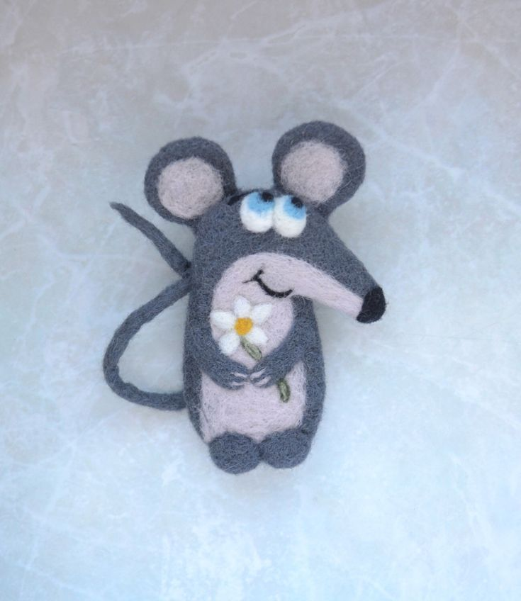 Animal brooch Needle felt mouse pin Small pet rat Cute mouse gift for girlfriend Cute mouse jewelry Felt brooch Cute Felt animal Best mouse by FeltedClouds on Etsy https://www.etsy.com/listing/289225207/animal-brooch-needle-felt-mouse-pin