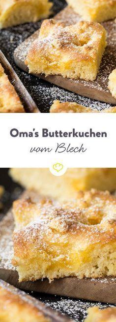 Oma Hannas Butterkuchen ist der beste! Besonders saftig, besonders lecker und mit …   – Kuchen, Kekse u. v. m.
