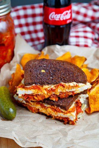 The Kimchi Rachel Sandwich (aka Roast Turkey Reuben Sandwich with Kim ...