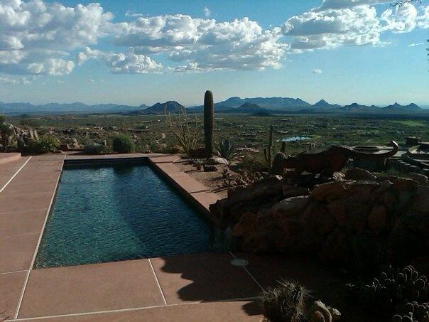 A home in Scottsdale, AZ.
