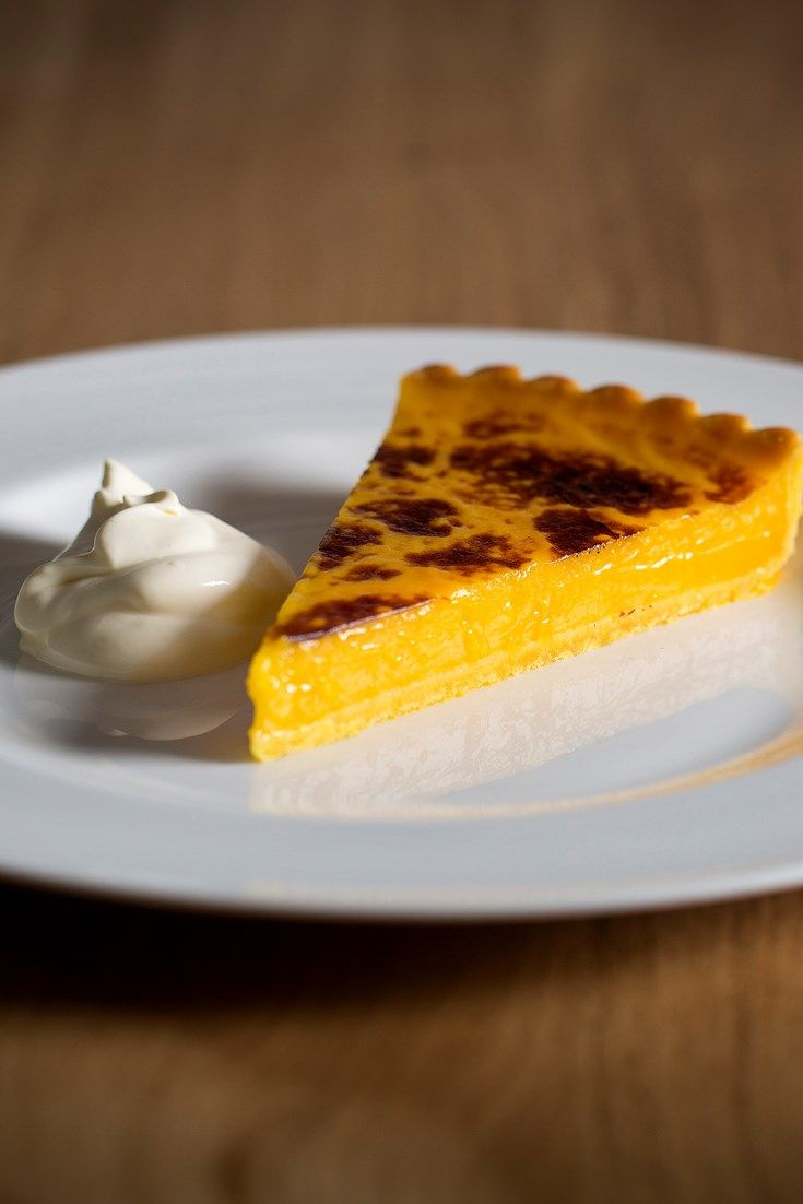 Theo Randall's easy lemon tart recipe is made with Amalfi lemons, a large Italian lemon with a sweet taste and intense aroma.