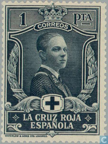 Spain [ESP] - Red cross 1926