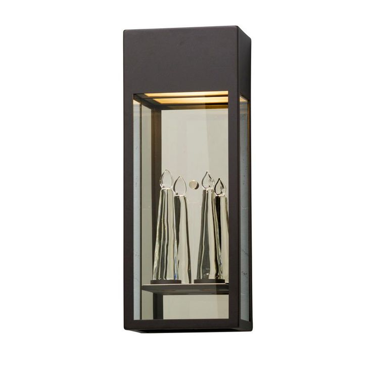 Trousdale Coastal Bronze Outdoor Integrated LED Wall Mount