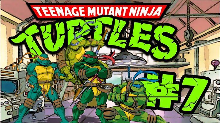 Retro Now|Teenage Mutant Ninja Turtles:Turtles in Time Stage#7|HD