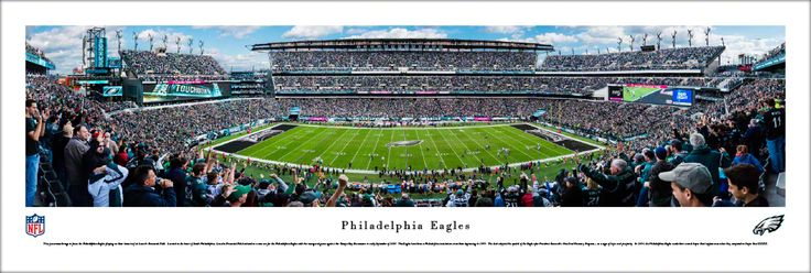 Philadelphia Eagles Panoramic Picture - Lincoln Financial Field Panorama - Unframed $29.95