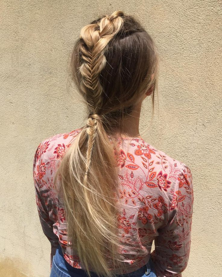 """608 Likes, 15 Comments - Blonde Hair Colour Studios (@vivalablonde) on Instagram: """"Messy boho braids ✨✨by our talented apprentice @kirsten_vivalablonde who has the magic styling…"""""""