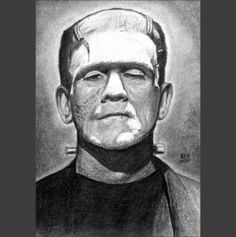 How to Draw Frankenstein, Step by Step, Frankenstein, Monsters, FREE Online Drawing Tutorial, Added by finalprodigy, October 17, 2011, 2:22:21 pm