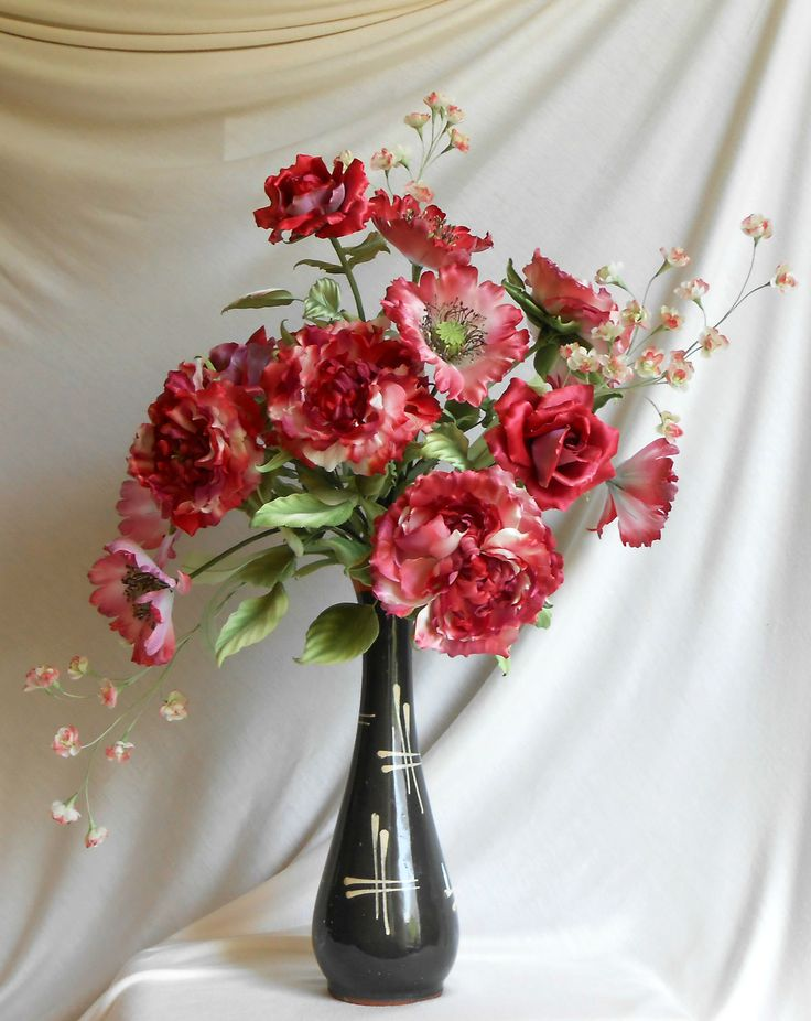 handmade silk flowers