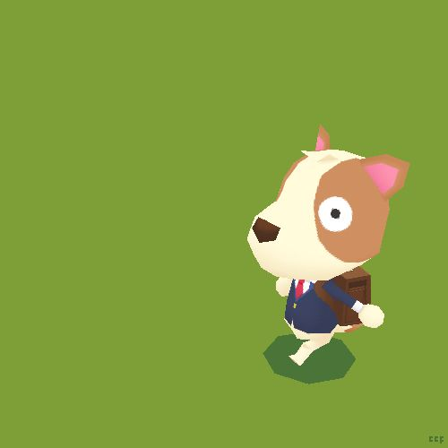 pixosprout:Run, doge, run! Learning how to use Blender for my little project  Love me some simple cg characters! Great stuff!!! Is this for your game?