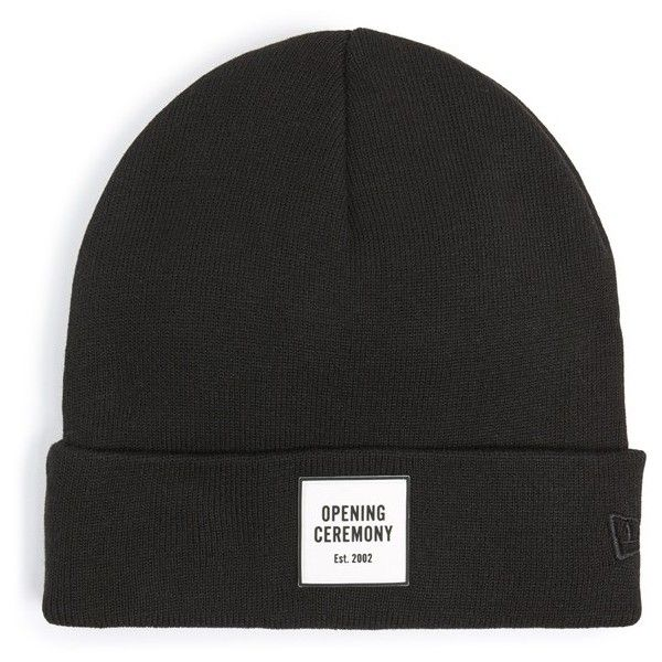 Opening Ceremony Logo Knit Beanie 37 Liked On