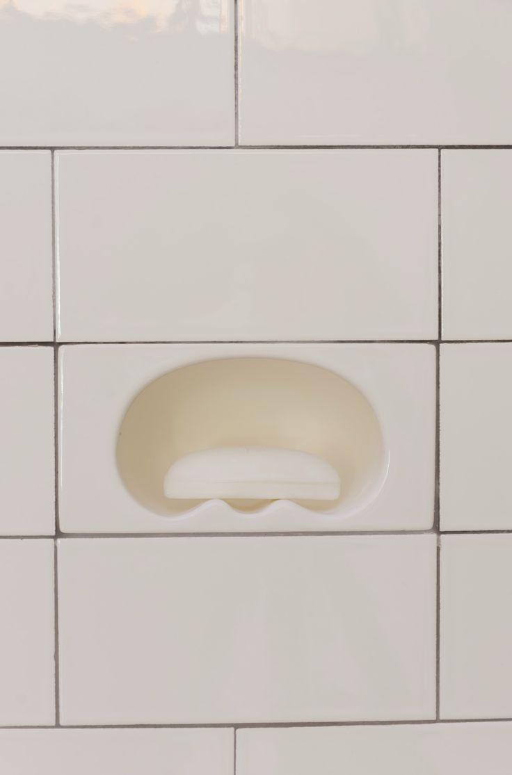 Intergrated ceramic fixtures 3 x 6 recessed soap dish - Ceramic soap dishes for bathrooms ...
