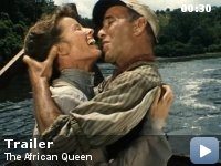 My favorite movie - The African Queen with Katharine Hepburn & Humphrey Bogart