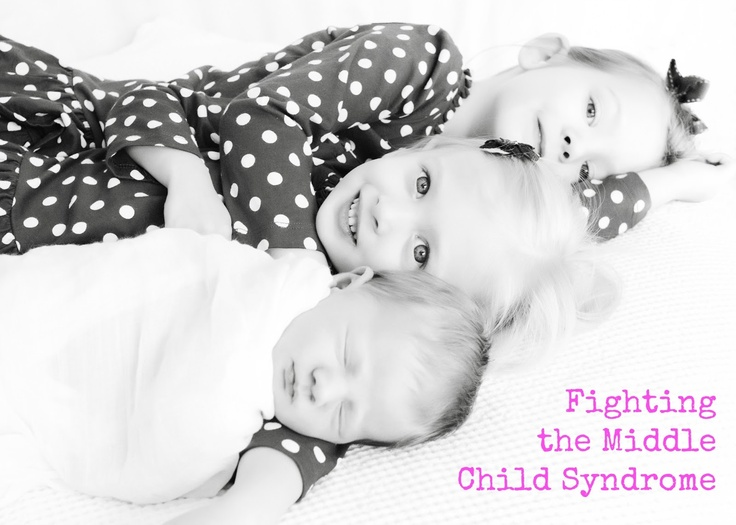 Ways to recognize and avoid MIDDLE CHILD SYNDROME