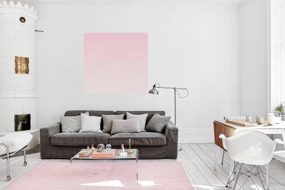Una decoración limpia estilo y diseño nórdico escandinavo Estilo minimalista decoración en blanco decoracion dormitorios decoración de salones Decoración de interiores cocinas modernas cocinas blancas