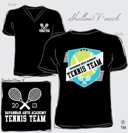 tennis team shirts order yours today salesivyrowcom ivyrow - Team T Shirt Design Ideas