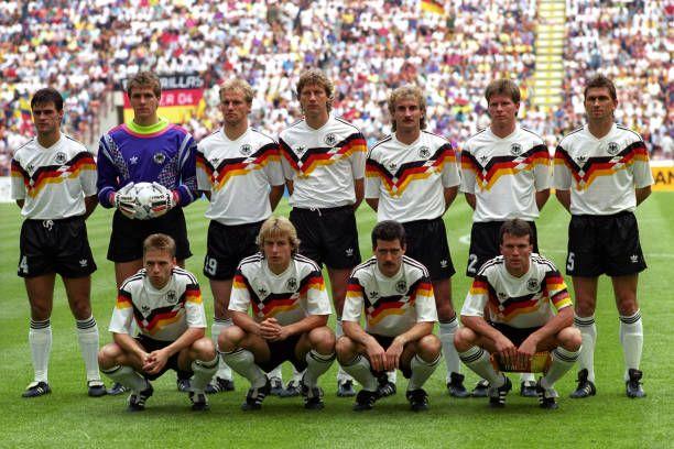 Germany Italia 90 Germany Team World Cup German National Team