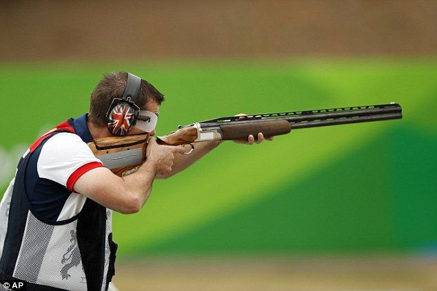 Ed Ling wins bronze for Great Britain in trap shooting