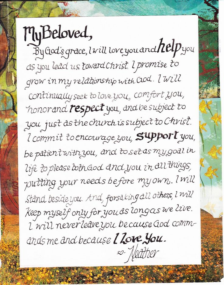 92 best wedding vows images on Pinterest | Marriage vows, Wedding ...