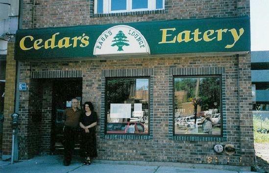 Cedar's Earery.......can't go wrong with the Shish Taouk or the Sharwarma Sandwich.  yummmmmmm