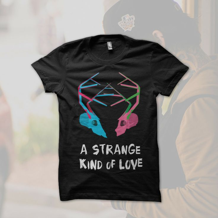 A Strange Kind of Love Shirt from Aucklandia  Inspired by Karangahape Road, Auckland, New Zealand.