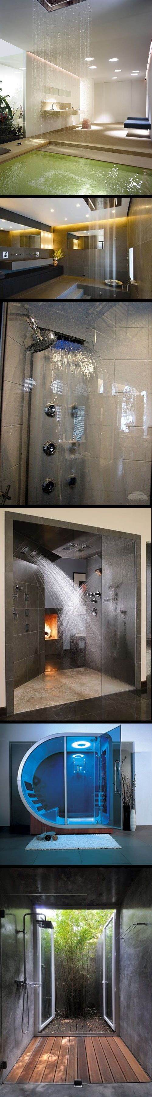 Cool and original shower designs...